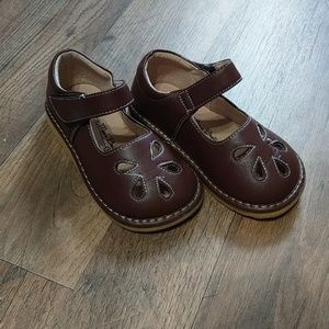 Brown Mary Jane shoes